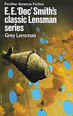 Grey Lensman Cover