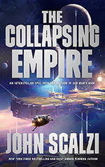 The Collapsing Empire Cover